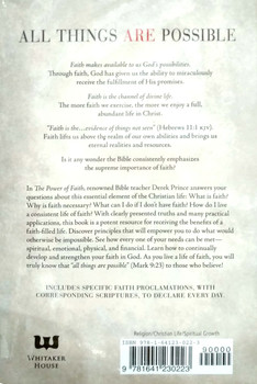 The Power of Faith: Entering into the Fullness of God's Possibilities by Derek Prince