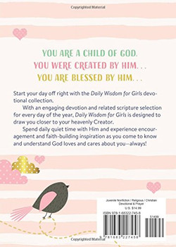 Daily Wisdom for Girls - Devotional Collection (Ages 8-12)
