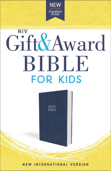 NIV Gift and Award Bible for Kids(Ages 8-12) Blue Flexcover in Comfort Print