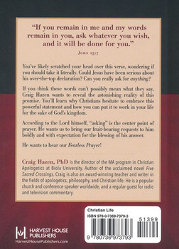 Fearless Prayer by Craig Hazen