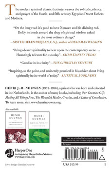 The Way of the Heart : The Spirituality of the Desert Fathers and Mothers  by Henri Nouwen