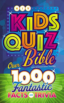NIV Kids' Quiz Bible-Hardcover Over 1,000 Fantastic Facts And Trivia by Zonderkidz
