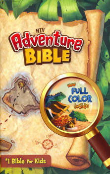 NIV Adventure Bible. #1 Bible for Kids(Age 8-12). Full Color Inside, Jacketed Hardcover.