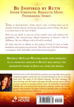 The Ruth Anointing:  Becoming a Woman of Faith, Virtue, and Destiny  by Michelle McClain-Walters