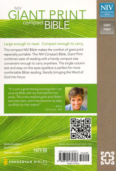 NIV Super Giant Print Reference Bible Comfort Print