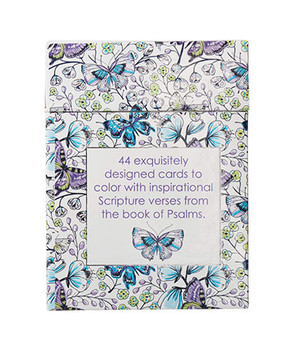 Psalms in Color - Coloring  Cards (Boxed of 44)