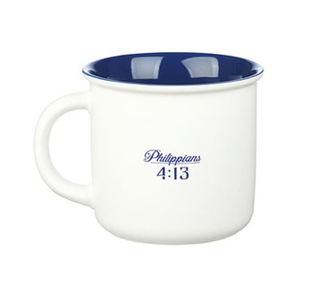 I Can Do All Things Camp Style Coffee Mug - Philippians 4:13