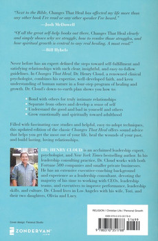 Changes That Heal:  Four Practical Steps To A Happier, Healthier You  by Dr. Henry Cloud