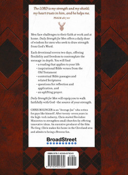 Daily Strength for Men: A 365-Day Devotional by Chris Bolinger