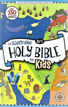 NIrV The Illustrated Holy Bible for Kids(Hardcover) - Over 750 colour illustrations.