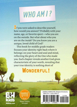 Wonderful (Overcomer) The Truth About Who I Am by Stephen Kendrick, Alex Kendrick