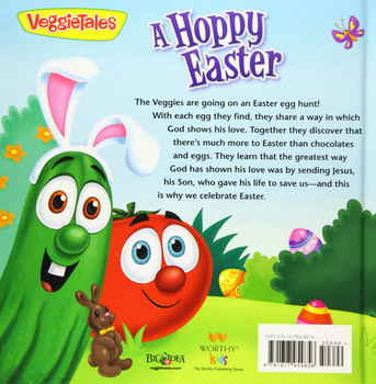 A HOPPY EASTER : Finding God's Love for Me(Ages 4-8)