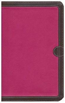 NIV Thinline Bible, Compact (Comfort Print ) PINK/CHOCOLATE Leathersoft