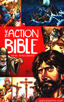 The Action Bible New Testament - God's Redemptive Story