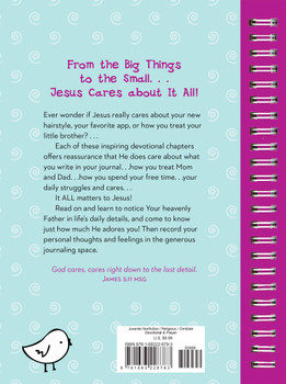 It All Matters To Jesus - Devotional Journal For Girls