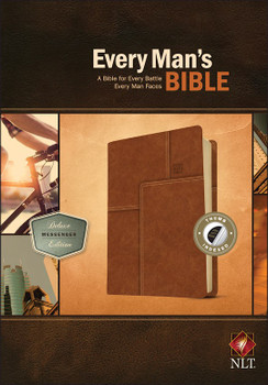NLT Every Man's Bible: A Bible For Every Battle Every Man Faces