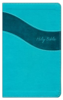NIV Premium Gift Bible(Comfort Print), TURQUOISE Leathersoft