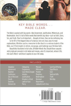 101 Bible Words You Should Know - From Adoption To Grace, Justification To Prophecy, Redemption To Worship- The Most Important Ideas In Scripture Explained, Applied, and Illustrated