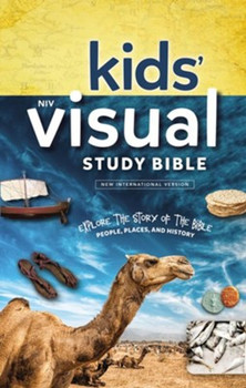 NIV Kids' Visual Study Bible in Full Color, Hardcover