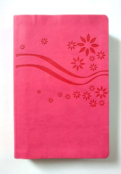 HCSB Illustrated Study Bible for Kids, PINK Leathersoft