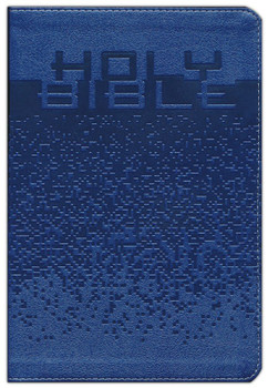 NIrV Large-Print Bible for Kids, BLUE Leathersoft