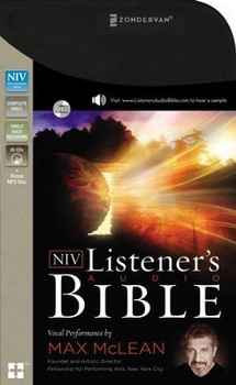 NIV Listener's Complete Bible -- 65 CDs(Bonus MP3 Disc) Vocal Performance by Max McLEAN