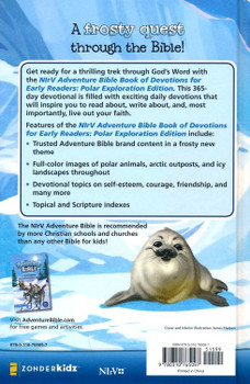 NIrV Adventure Bible Book Of Devotions For Early Readers(Hardcover), Polar Exploration Edition (Ages 6-10)
