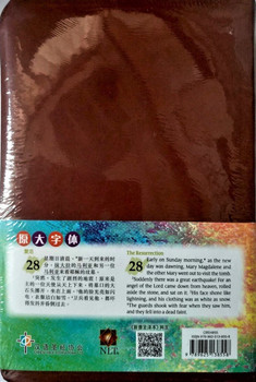 中英圣经 Holy Bible Bilingual Simplified Chinese/English 新普及译本 New Living Translation Version, 啡色仿皮面-银边 Brown Leatherlike - Silver GIlded