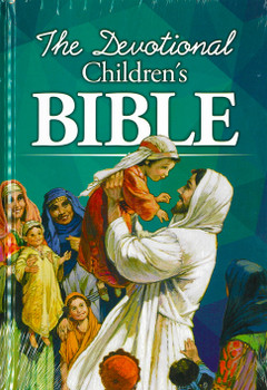 The Devotional Children's Bible for Ages 3 to 11(Hardcover)