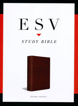 ESV Study Bible-CHESTNUT TruTone, Imitation Leather