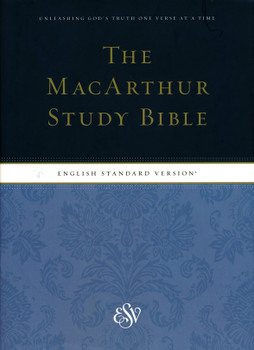 ESV MacArthur Study Bible with indexed (Hardcover)