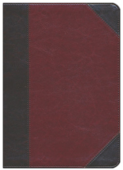 ESV MacArthur Study Bible TruTone BROWN/CORDOVAN, Portfolio Design,  Imitation Leather