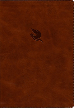 NKJV Spirit-Filled Life Bible - BROWN LEATHERLIKE with INDEXED.