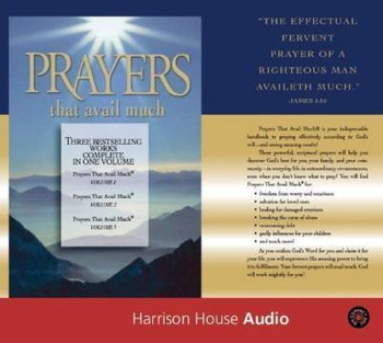 Audiobook - Prayers That Avail Much Commemorative by Germaine Copeland. Unbridged in 9 CDss