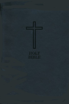 KJV Value Compact Thinline Bible, Black Leathersoft