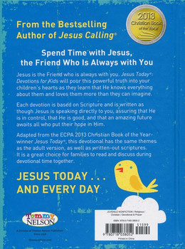 Jesus Today - Devotion for Kids(Ages 6-10)by Sarah Young