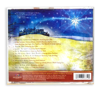 Audio CD - Worship & Adore: A Christmas Offering