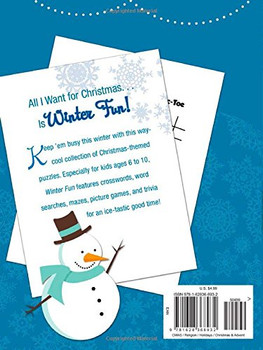 Winter Fun: Bible-Based Christmas Activities for Kids. Comes with free copy of Wise Men Trivia - Christmas Fun for Kids (Paperback)