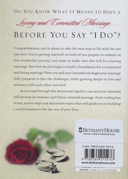 Preparing for Marriage Devotions for Couples: Discover God's Plan for a Lifetime of Love (Hardcover) by Dennis Rainey, Barbara Rainey