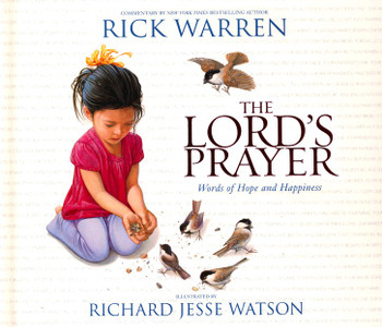 Lord's Prayer: Words Of Hope And Happiness Board Book(Ages 4 to 8). Commentary by New York TImes Bestselling Author