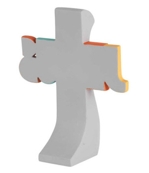 Tabletop Cross(TCR172) I can do all things through Christ - Philippians 4:13