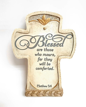 Bereavement Cross(9570) Blessed are those who mourn, for they will be comforted. Matthew 5:4