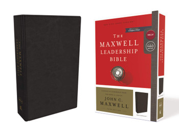 NKJV The Maxwell Leadership Bible, 3rd Edition, BLACK Leathersoft