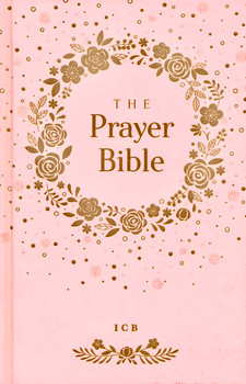 ICB Prayer Bible for Children(Ages 6-10) - Pink, Hardcover with Printed Caseside