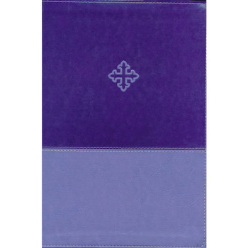 The Amplified Study Bible, PURPLE Leathersoft. Verse-by-verse study with application-oriented study notes. 10.5pt type.
