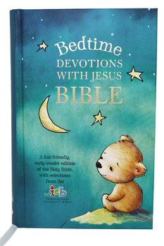 ICB Bedtime Devotions With Jesus Bible(Ages 4-8 Yrs) A kid-friendly, early reader edition of the Holy Bible(Hardcover)