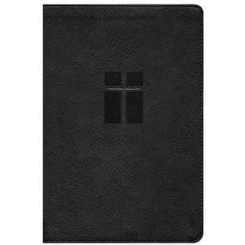 NIV Quest Study Bible - with over 7,000 insightful notes arranged in a unique Q&A format. BLACK Leathersoft, 9.5pt Type.
