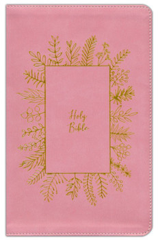 NKJV Holy Bible For Kids (Ages 6-10) - PINK Leathersoft 9.5pt type with reading plans