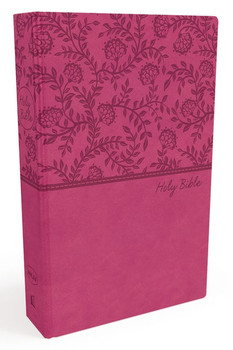 NKJV Value Thinline Bible, PINK Leathersoft, 9pt Red Letter