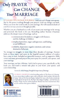The Power of Prayer to Change Your Marriage by Stormie Omartian